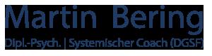 Martin Bering, systemischer Coach (DGSF)